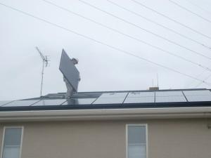 太陽光モジュール設置2