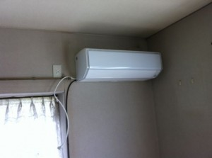 新規エアコン
