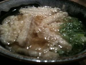 福岡県那珂川町|麺やほり野 ごぼう天うどん