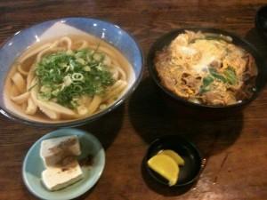福岡県大野城市|福助うどん かつ丼セット