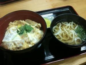 福岡市中央区|麺屋よし田 カツ丼セット