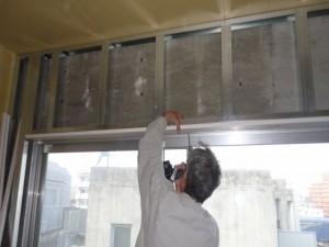 窓枠の交換